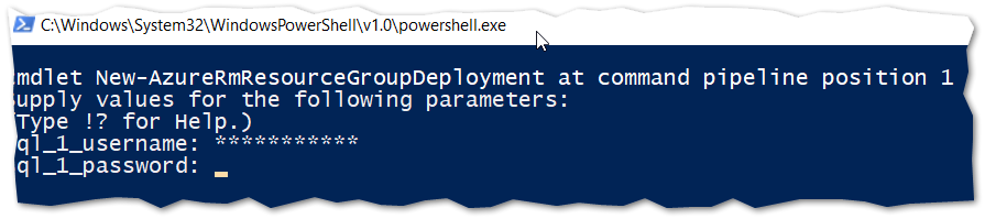 Powershell authentication