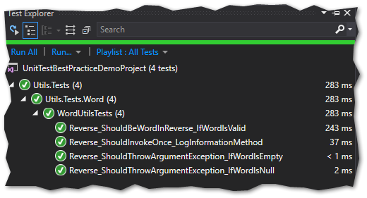 Text Explorer in Visual Studio