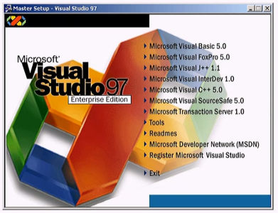 Microsoft Visual Studio 97 Enterprise Edition