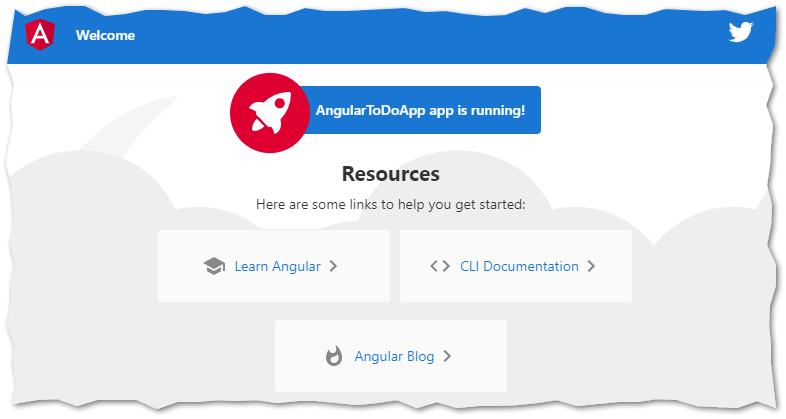 AngularToDoApp is running!
